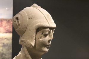 Guerrero de la doble armadura. Cerrillo Blanco de Porcuna. Museo Íbero de Jaén.