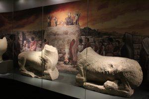 Leones del Cerrillo Blanco de Porcuna. Museo Íbero de Jaén.