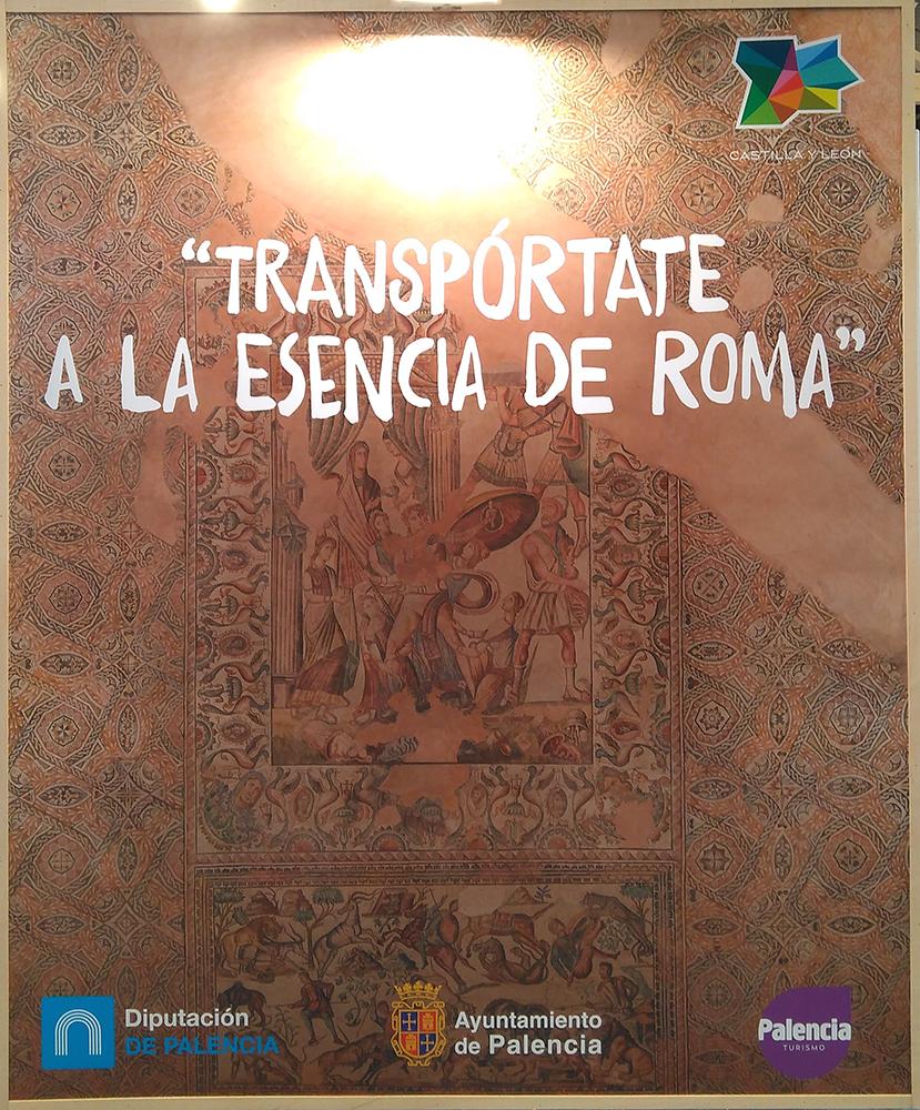 Mosaico de la villa romana de La Olmeda (Palencia).
